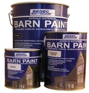 Decorating a barn