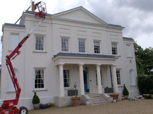 Painters and decorators london commercial decorators in london - Exterior painting process decoration ...