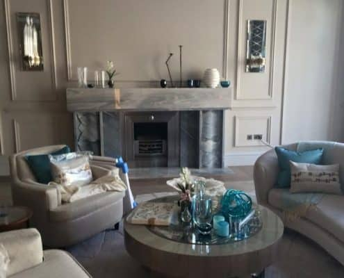 High-end residential decorating SW10