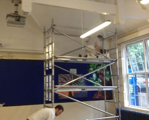 schools decorating