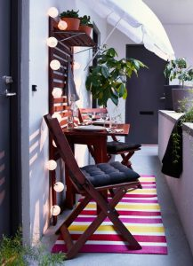 10 creative ideas to decorate your balcony 9