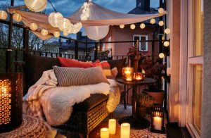10 creative ideas to decorate your balcony 6