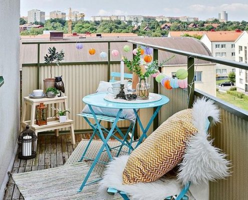 10 creative ideas to decorate your balcony 1