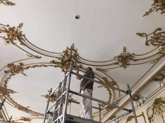 Decorating an Embassy in Central London