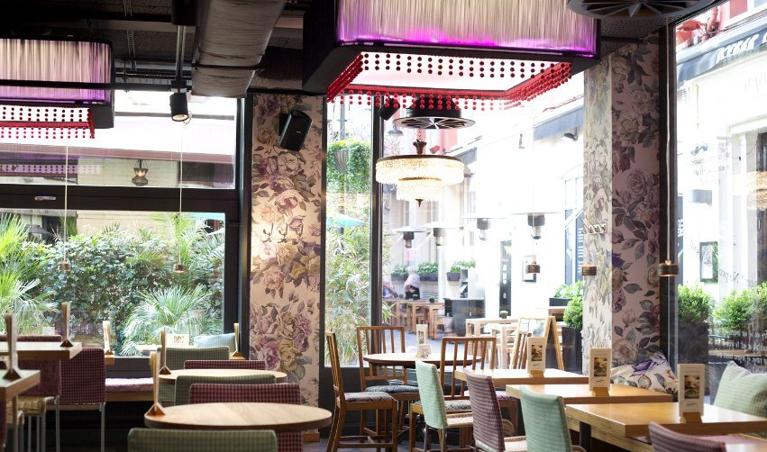 restaurant fit out W1B