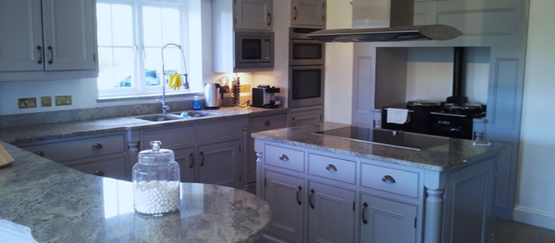 Hand painted kitchens Regents Park